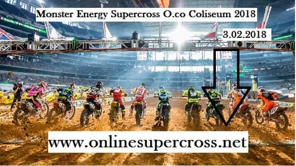 Supercross O.co Coliseum 2018