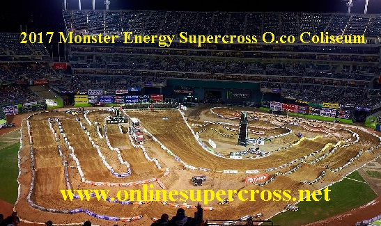 Monster Energy Supercross O.co Coliseum live