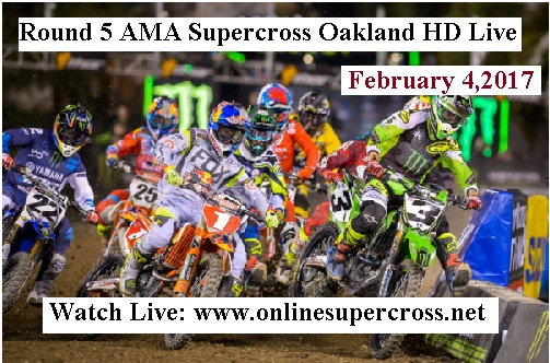 Monster Energy Supercross Oakland Round 5 stream live