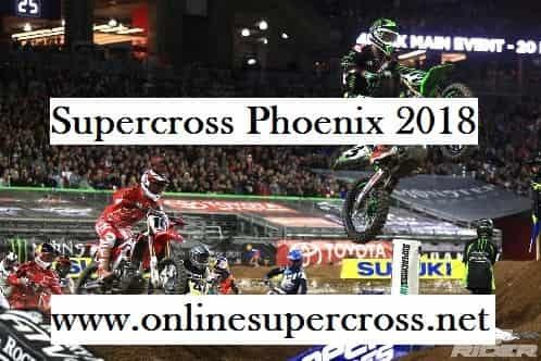Monster Energy Supercross Phoenix Rd 4