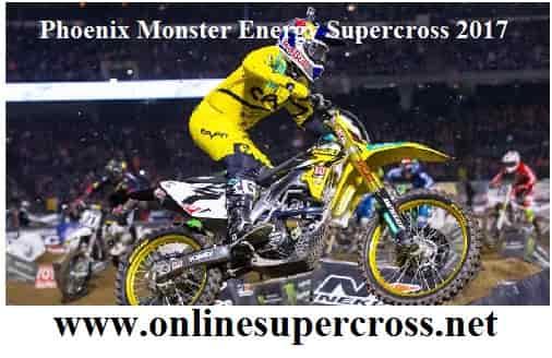 Phoenix Monster Energy Supercross 2017 live