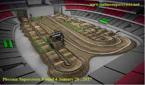 Phoenix supercross 2017 live