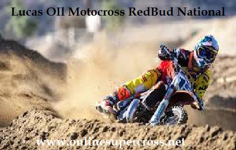 RedBud National Motocross Live On Tab