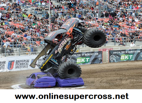Monster Jam Salinas Sports Complex 2016 Live