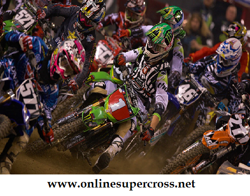 2016 Monster Energy Supercross at Levis Stadium
