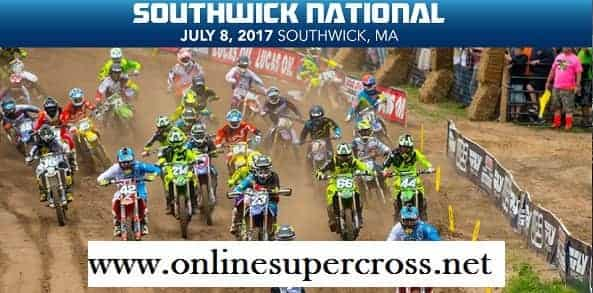 Southwick National Motocross live