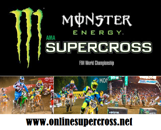 Monster Energy AMA Supercross Saint Louis Race Live Stream