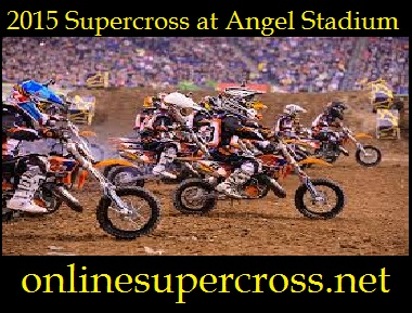Supercross at Angel Stadium