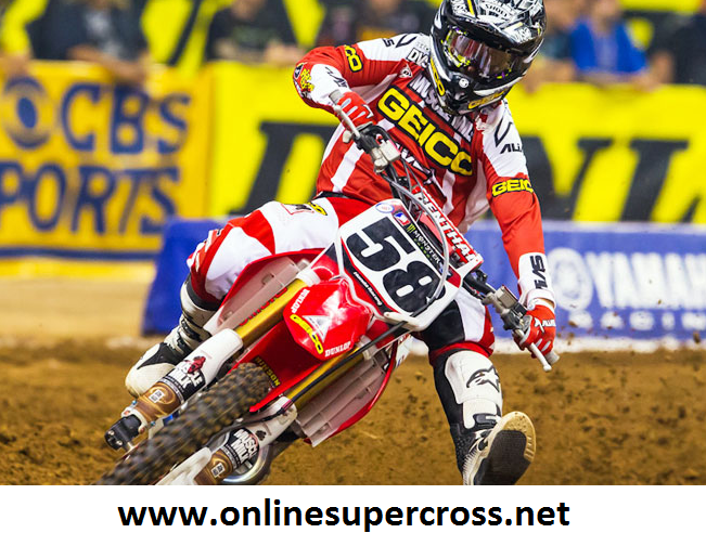 Supercross At Sam Boyd Stadium