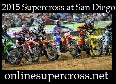 Supercross at San Diego
