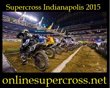 supercross Indianapolis 2015