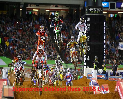 Watch Monster Energy AMA Supercross Oakland Round