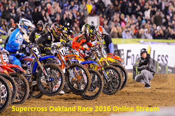 Watch Supercross Oakland 2016 Worldwide Coverage