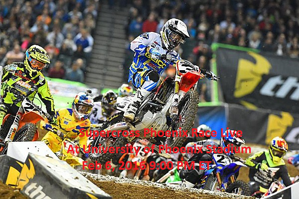 Supercross Phoenix Race Live