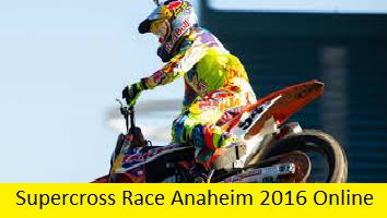Supercross Race Anaheim 1 Live