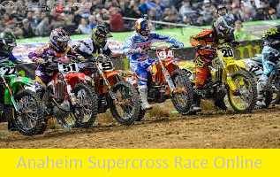 2016 Supercross Anaheim 1 Live Stream
