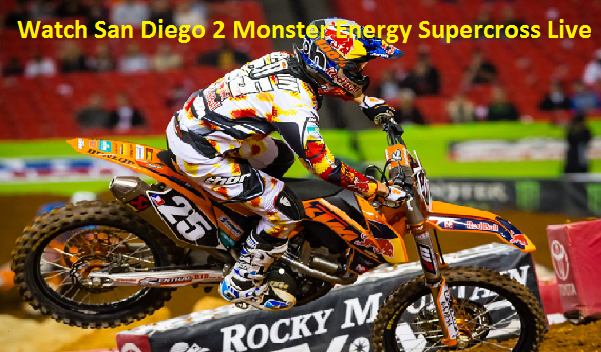 Live Supercross San Diego 2 Streaming