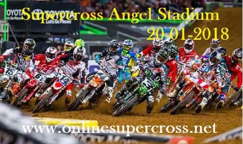 Supercross Angel Stadium