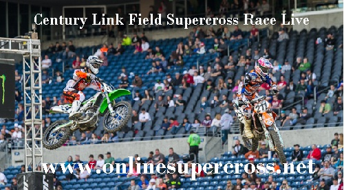 Supercross Century Link Field live