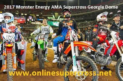 Supercross Georgia Dome live