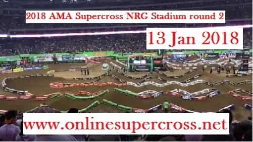 Supercross NRG Stadium round 2