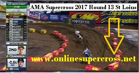 Supercross the Dome at Americas Center live