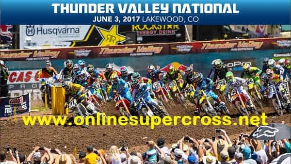 Thunder Valley National Motocross live