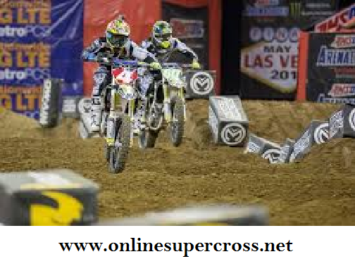 Watch Las Vegas AMSOIL Arenacross Race 2016 Live