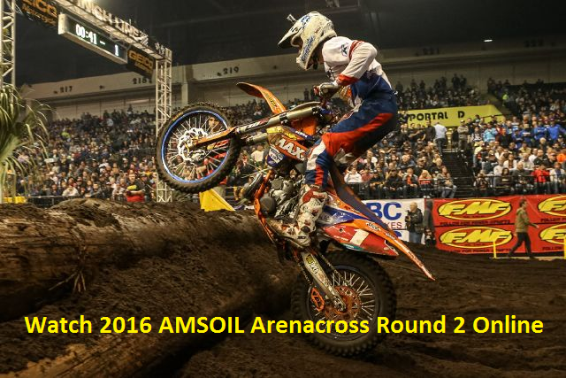 Live AMSOIL Arenacross Round 2 Broadcast