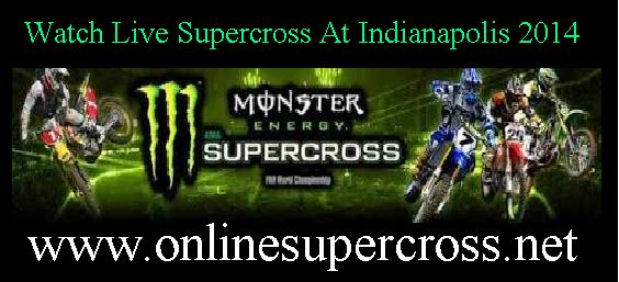 Watch Live Supercross At Indianapolis