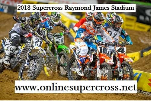 Supercross Raymond James Stadium