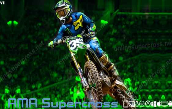 2016 Supercross Rogers Centre Live Race on Andriod Device