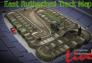 2017 East Rutherford Track Map