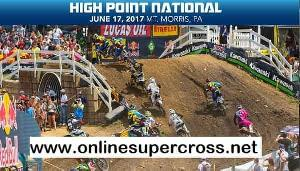High Point National MX Live